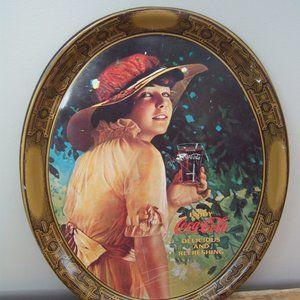 Vintage Coca-Cola Oval Tray.